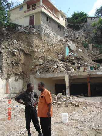 Cleared Delmas Church Building Site