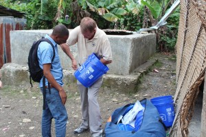 WATER-2-Showing-how-to-put-the-hole-to-install-Sawyer-Water-Filter-at-remote-school